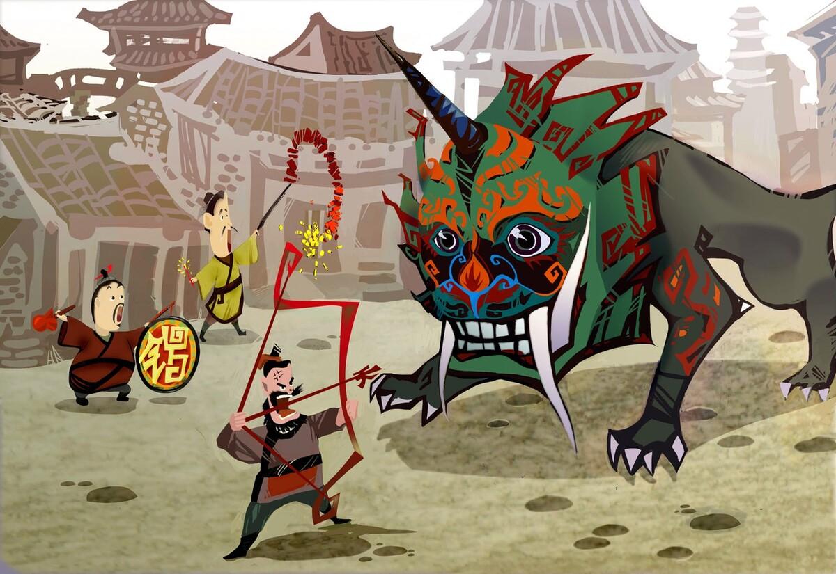 Ниан. Легенда о китайском Новом Годе